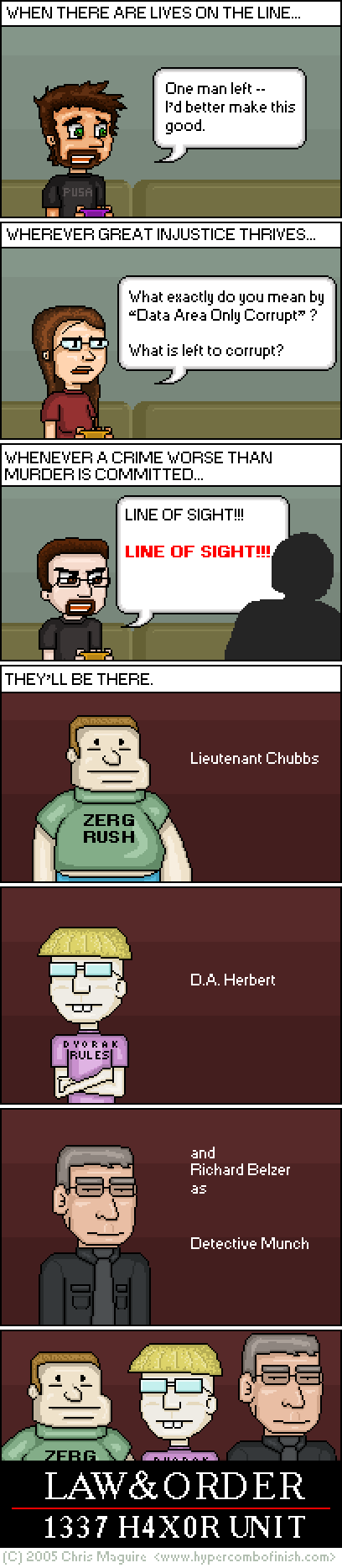 Hypercombofinish Comic #17 by Chris Maguire