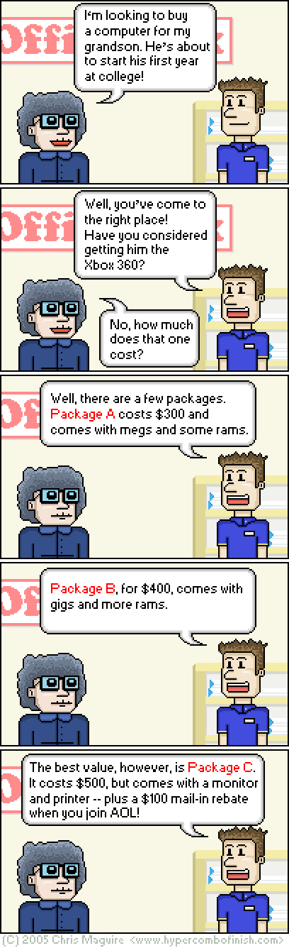 Hypercombofinish Comic #26 by Chris Maguire