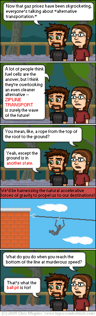 Hypercombofinish Comic #27 by Chris Maguire