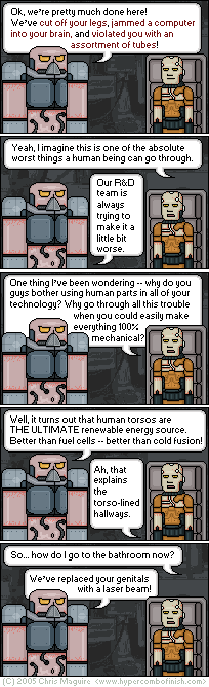 Hypercombofinish Comic #34 by Chris Maguire