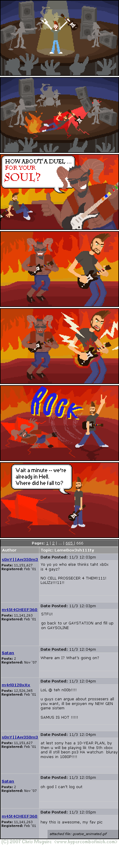Hypercombofinish Comic #39 by Chris Maguire