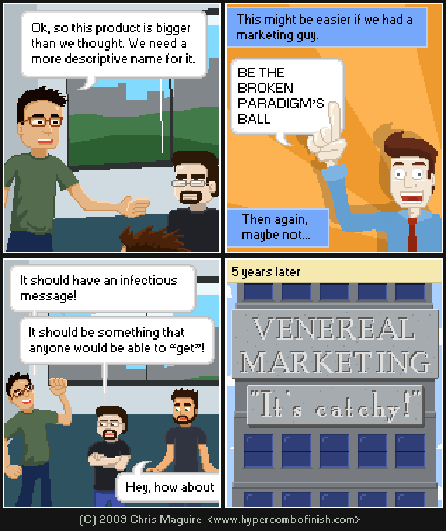 Hypercombofinish Comic #46 by Chris Maguire